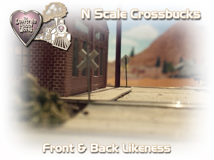 N-scale-railroad-crossbucks-crossing-signs